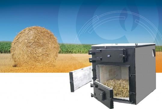 Cazane pe balot de paie Agrowarmer 25- 600 kW - Cazane