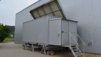 Container for biomass